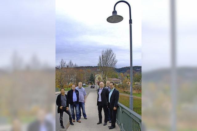Erste Kommune im Landkreis: Hausen hat gesamte Straßenbeleuchtung auf LED umgestellt