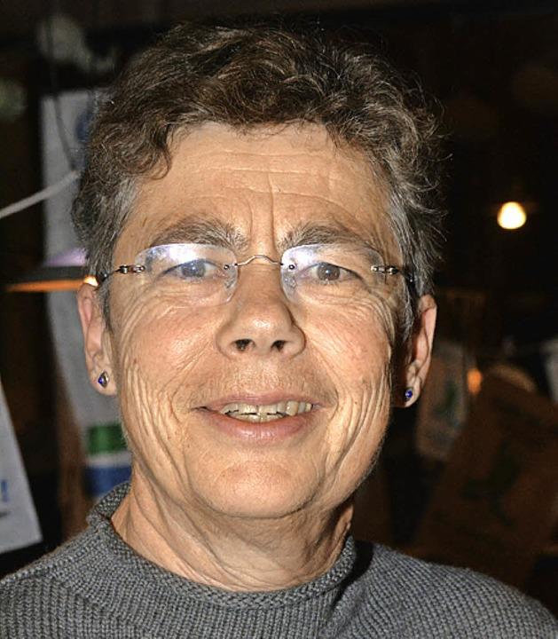 Claudia Kohleiss-Rottmann besuchte in ...nden, die den Grünen Gockel vertreten.    Foto: Hirschberger
