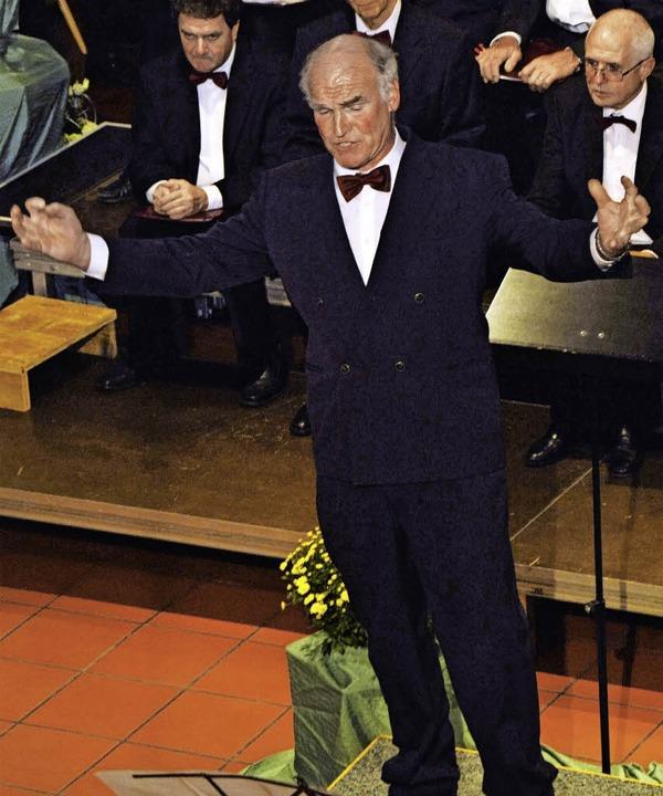 Einen großartigen Auftritt hatte Bassi...beeindruckte er bei den Verdi-Stücken.    Foto: Georg Diehl
