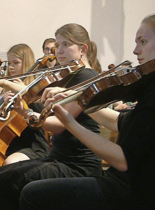 Die Jungen Sinfoniker der Basler Musikschulen   | Foto: Archivfoto: R. Frey