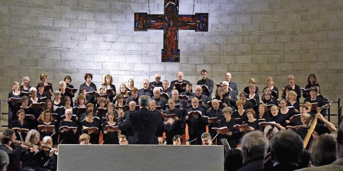 Der Motettenchor überzeugte seine Zuhörer.     Foto: Sarah Nöltner