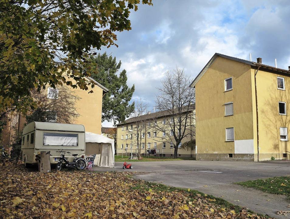 Am Lindenwäldle sollen nur einige Wohn... saniert werden. Das sorgt für Unmut.   | Foto: Thomas Kunz