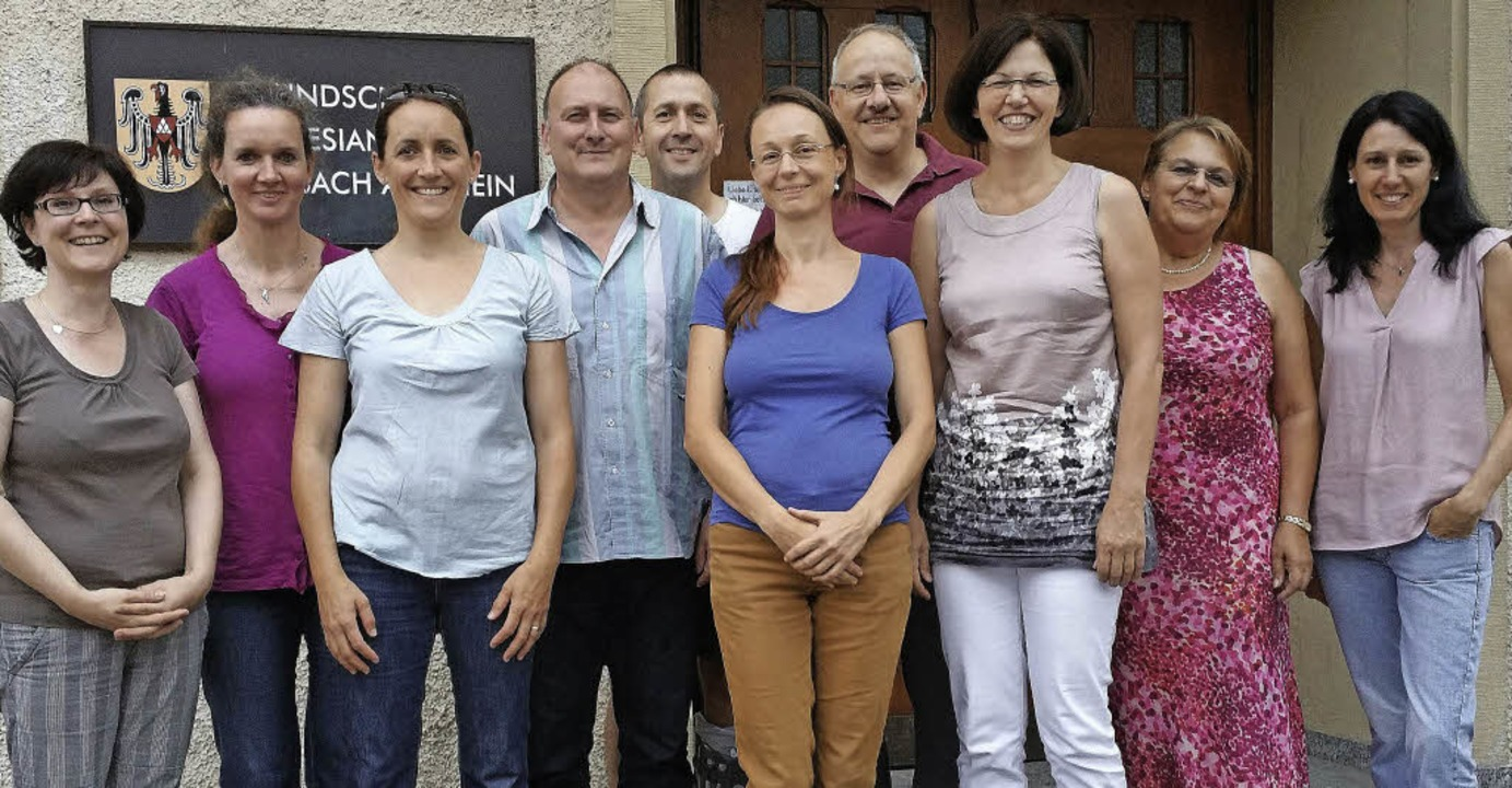 Der neue und der bisherige Vorstand de...n  Irmtraud Probst (Zweite von links)   | Foto: Privat