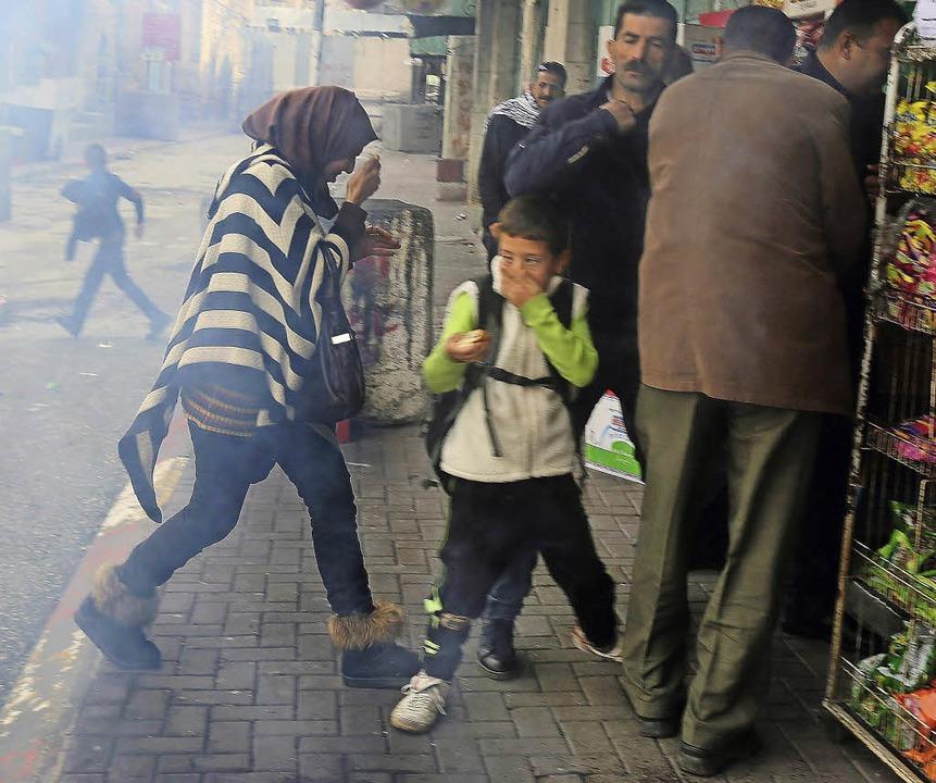 Alltägliche Gewalt in Hebron    | Foto: dpa