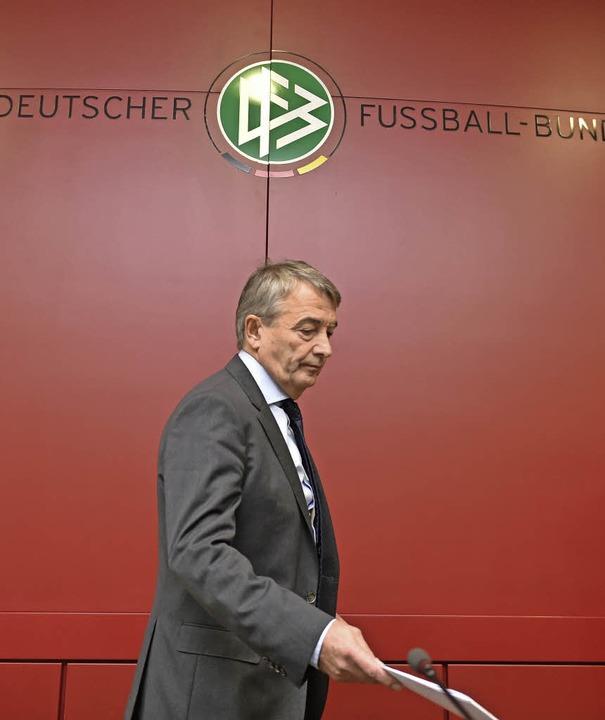 Hat sein Amt abgegeben: Wolfgang Niersbach  | Foto: dpa