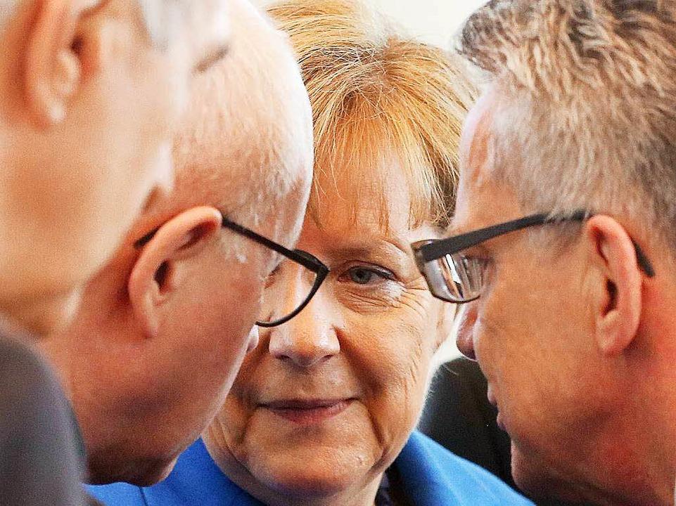 Die Kanzlerin steht zunehmend in der Kritik.     Foto: dpa