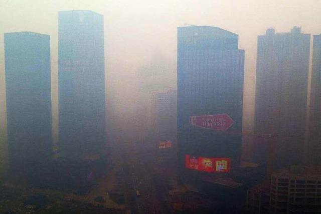 Chinas Kohleheizungen befeuern den Klimawandel