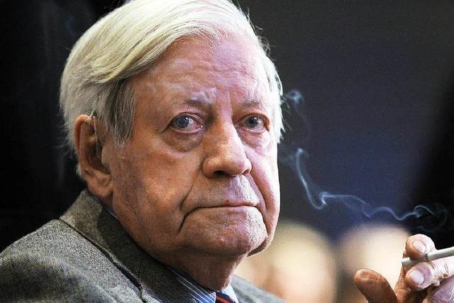 Trauer um Helmut Schmidt – Altkanzler stirbt mit 96 Jahren