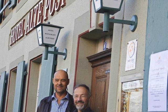 Café-Verkehrt-Chef Peter Maier übernimmt die Alte Post