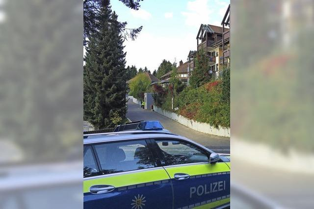 Brand in Flüchtlingsunterkunft in Sasbachwalden