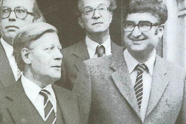 Rolf Böhme über Helmut Schmidt: