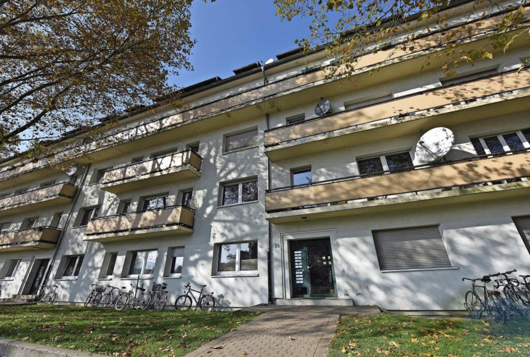 Die Bau-Union will in der Eschholzstraße 94 bis 96 höher bauen.   | Foto: Patrick Seeger