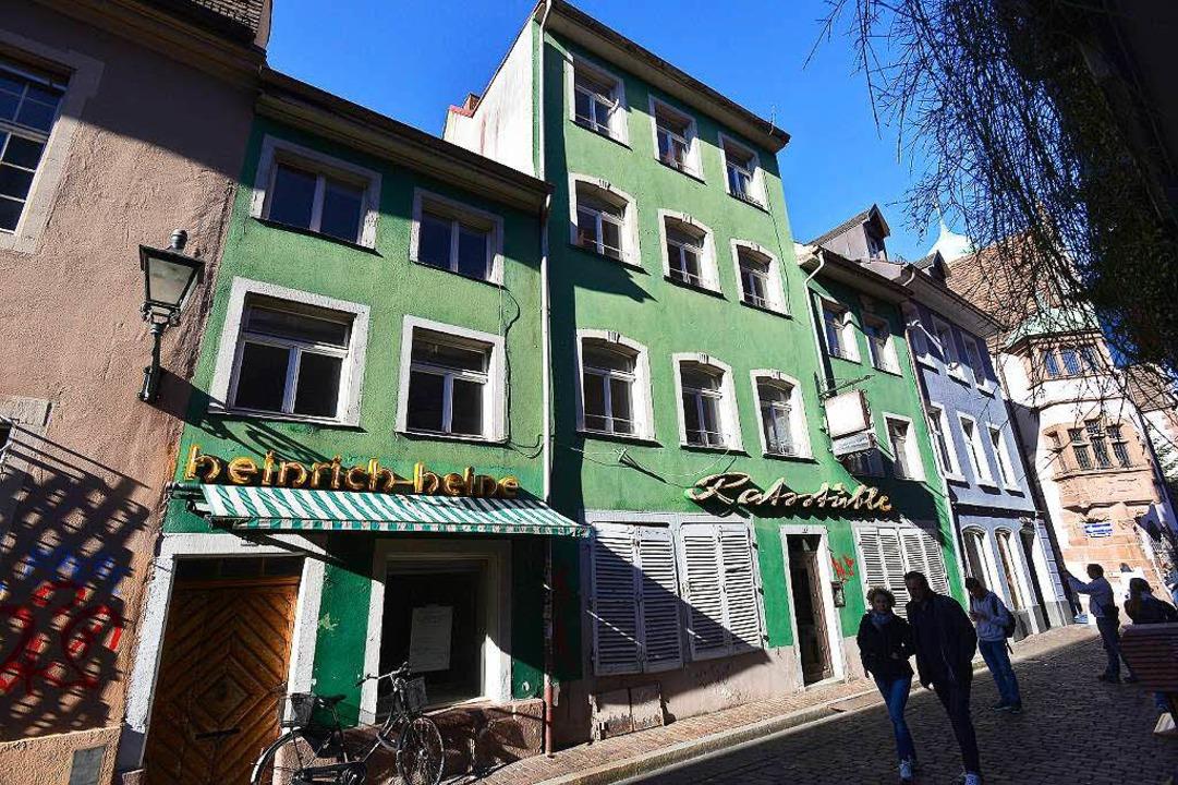 Seit 2010 ist das Ratsstüble in der Altstadt  verwaist.  | Foto: Ingo Schneider