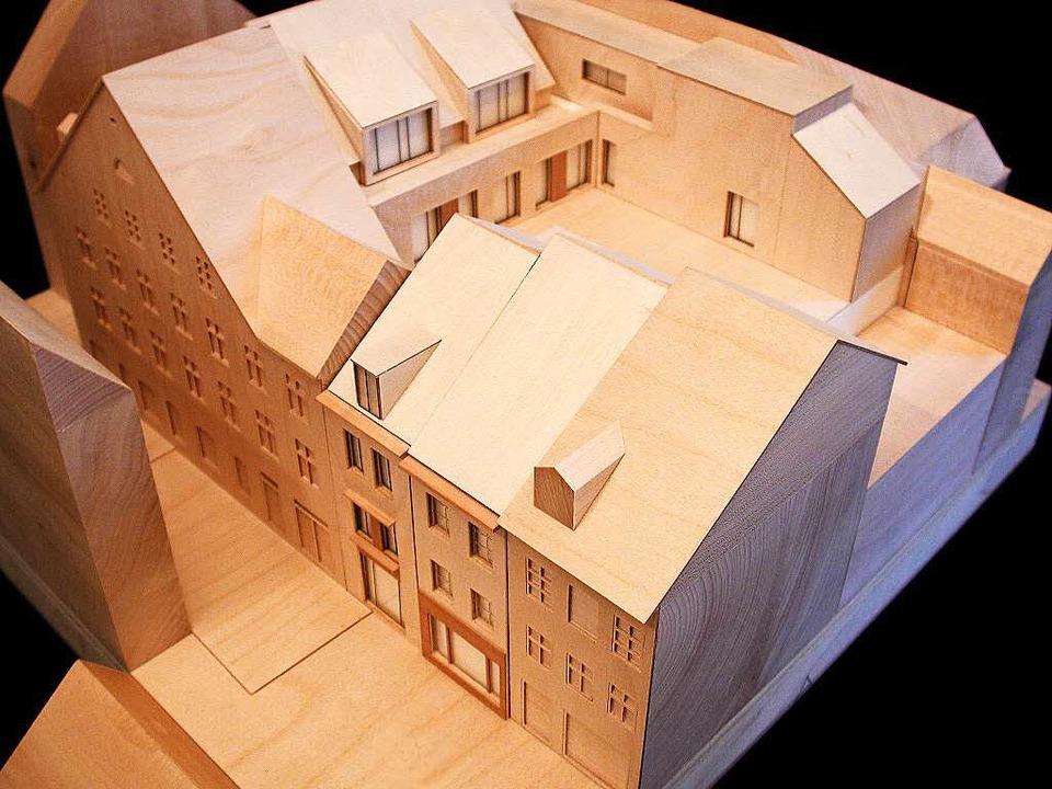 Neu gebaut werden auch die beiden Gebä...nenhof setzt auf der ersten Etage auf.  | Foto: Architekt Hubert Horbach