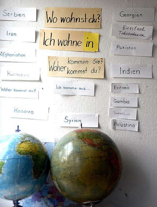 Unterrichtsmaterialien in der Geroldsecker Vorstadt  | Foto: Felix Lieschke