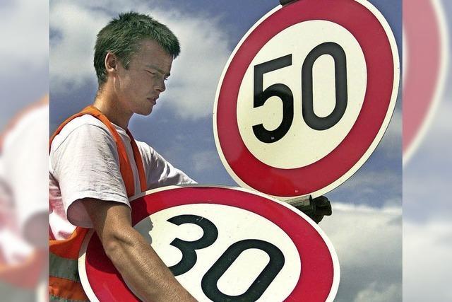 Hartheim fordert Tempo 30