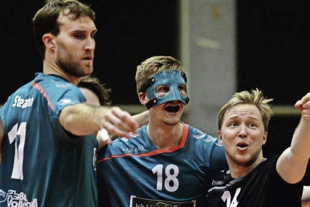 Freiburger Volleyballer: Sieger der Herzen mit viel Gänsehaut