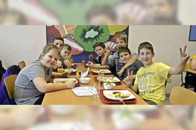 Schüler bekommen mehr Platz zum Mittagessen