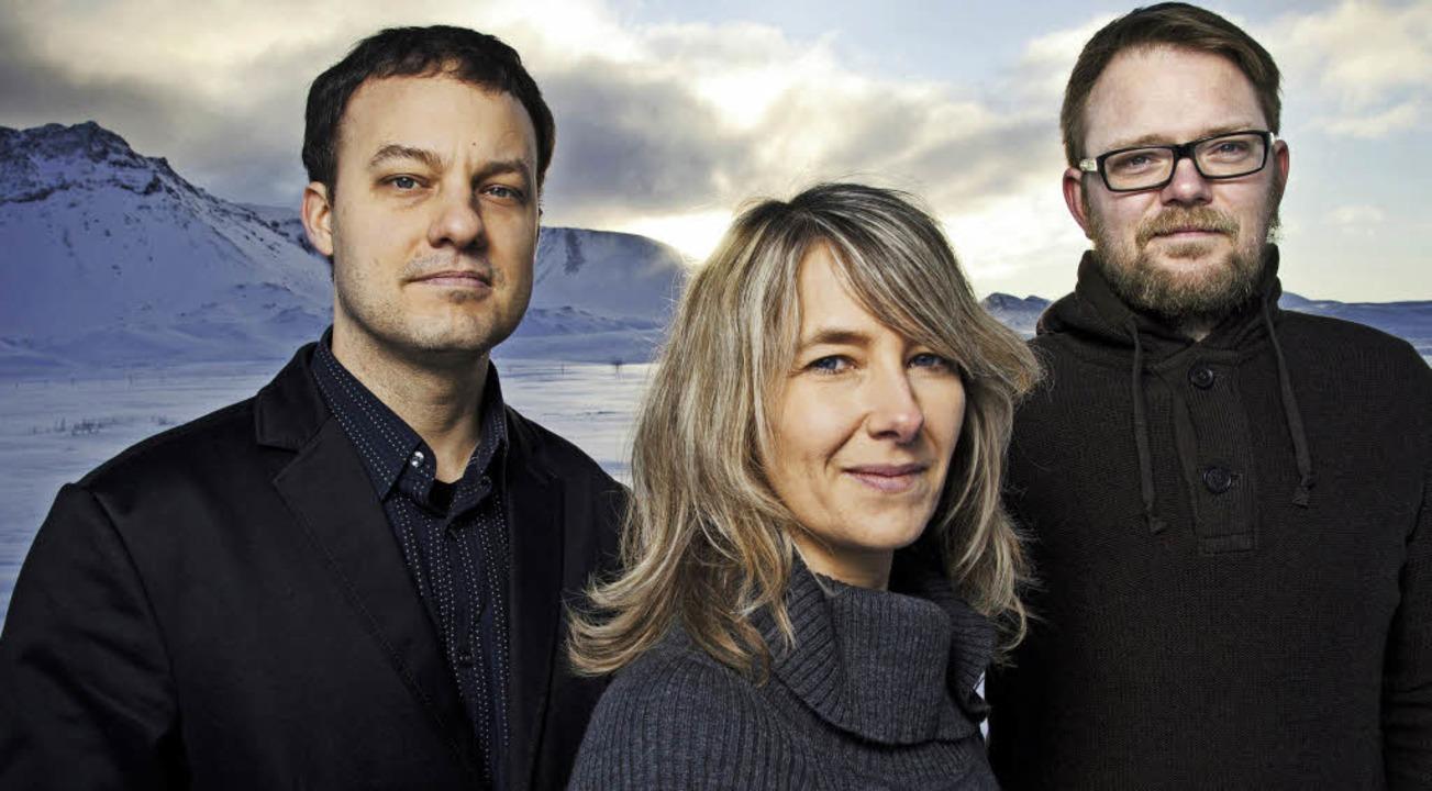 Der amerikanischen Schule verpflichtet:  das Jazztrio von Sunna Gunnlaugsdóttir  | Foto: Hörður Sveinsson