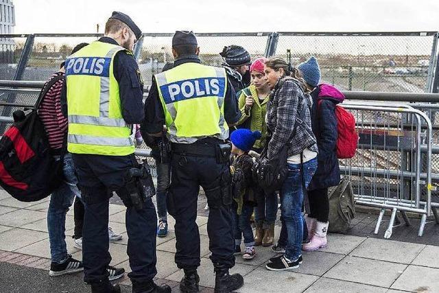Schweden kontrolliert wegen der Flüchtlinge seine Grenzen