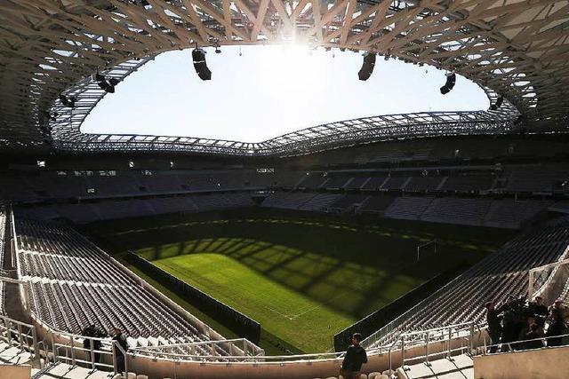 SC-Stadion aus Holz: Experten prüfen die Idee
