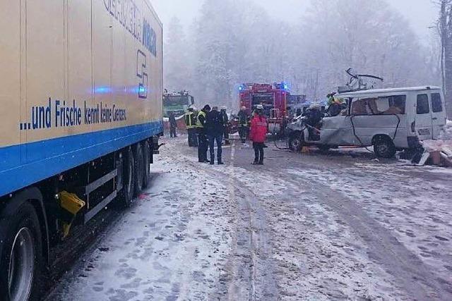 Tödlicher Unfall am Feldberg: Lkw-Fahrer zu Geldstrafe verurteilt