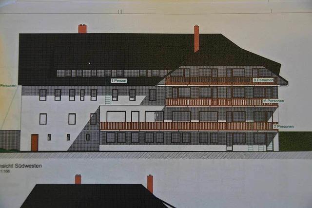 Umnutzung des Gasthofs Pfauen in Lenzkirch ist geplant