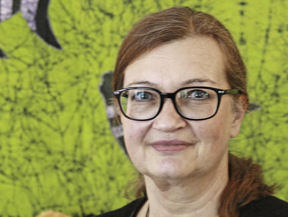 Die Lahrerin Caroline Burkart lebt umg... zweiten Preis in der Kategorie Lyrik.  | Foto: Babette Staiger