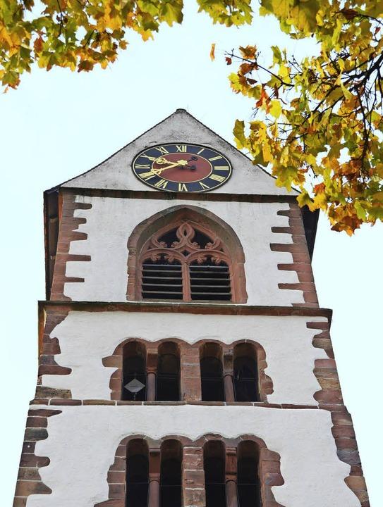 Die Bauweise des Kirchzartener Kirchtu...k an die eines Bergfrieds einer Burg.   | Foto: Markus Donner/Dargleff Jahnke
