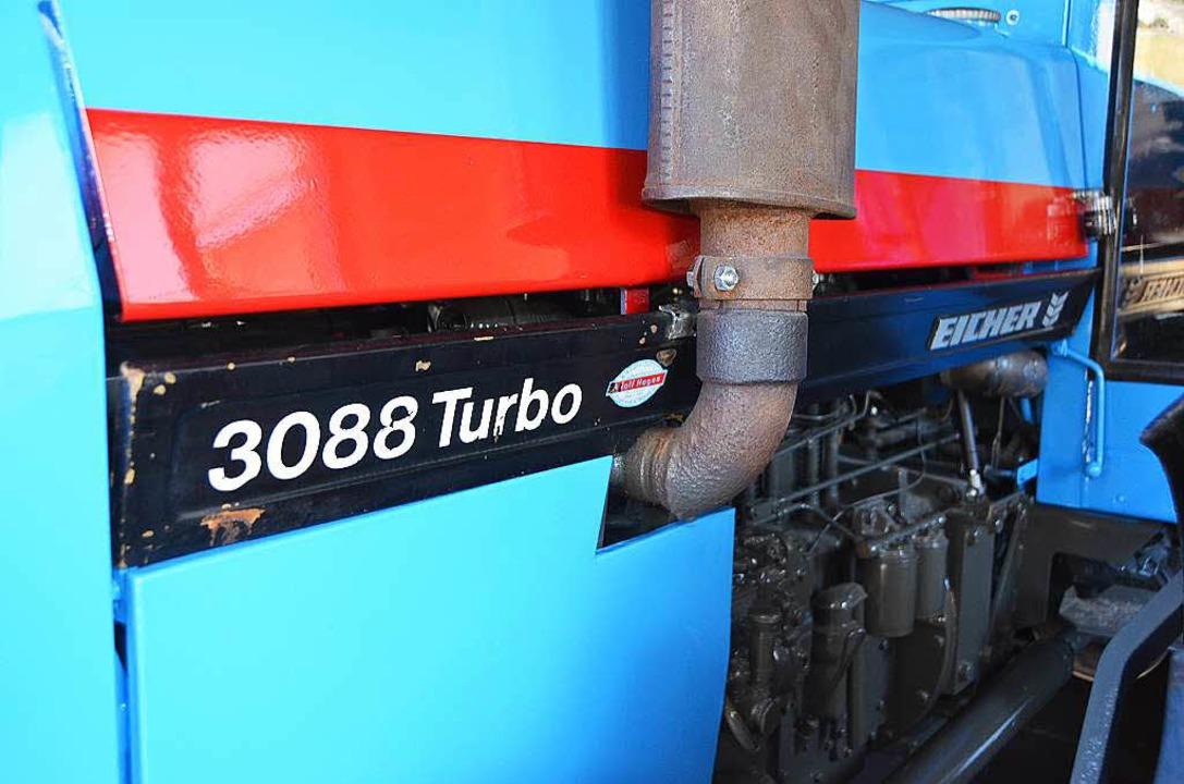 Ein 3088er im charakteristischen blau.  | Foto: Sebastian Wolfrum