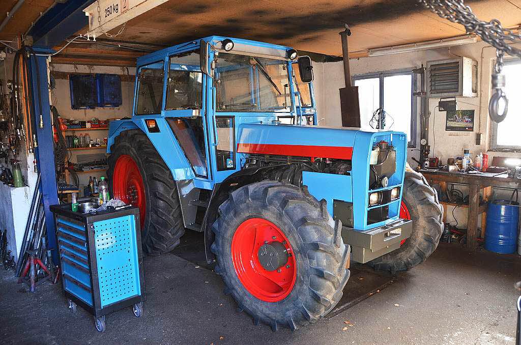 traktoren was macht den reiz der marke eicher aus. Black Bedroom Furniture Sets. Home Design Ideas