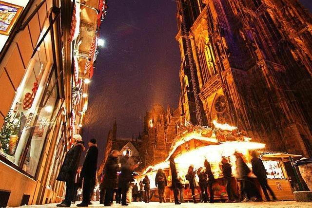 Wird Weihnachtsmarkt in Straßburg abgesagt?
