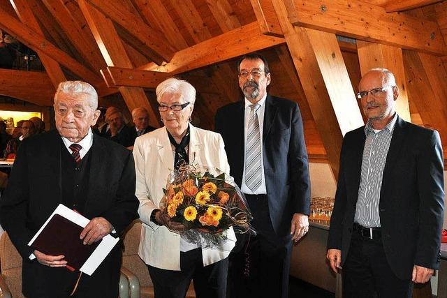 Großer Empfang für Artur Köbele zum 90. Geburtstag