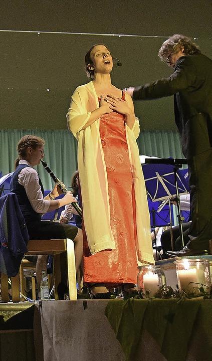Für langjähriges Musizieren im MV Hüge... vom Markgräfler Musikverband geehrt.     Foto: Beatrice Ehrlich