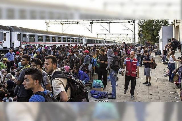 Hilfe für Flüchtlinge in Vinkovci