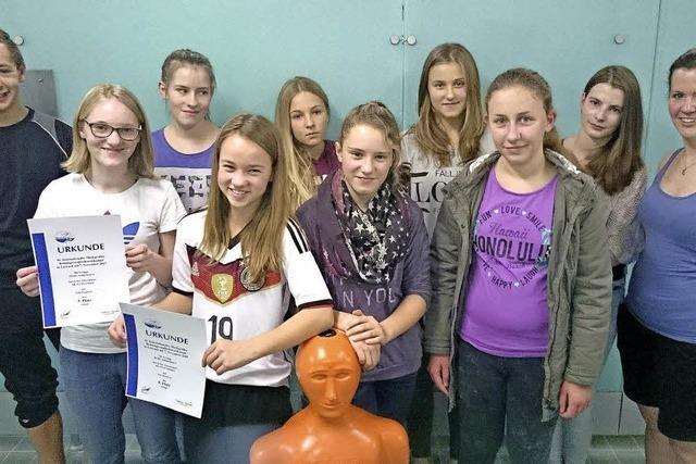 Erfolg für junge Schwimmerinnen aus dem Oberen SchlüchttaL