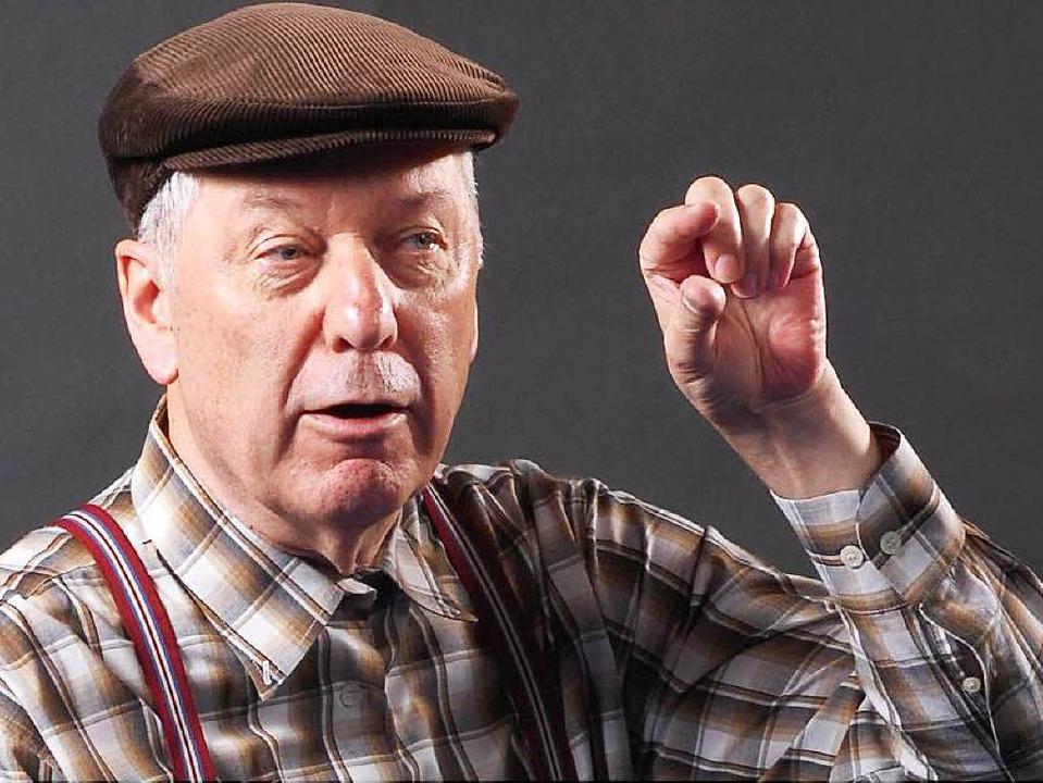Gerd Dudenhöfer verschiebt seinen Auftritt in Denzlingen.  | Foto: promo