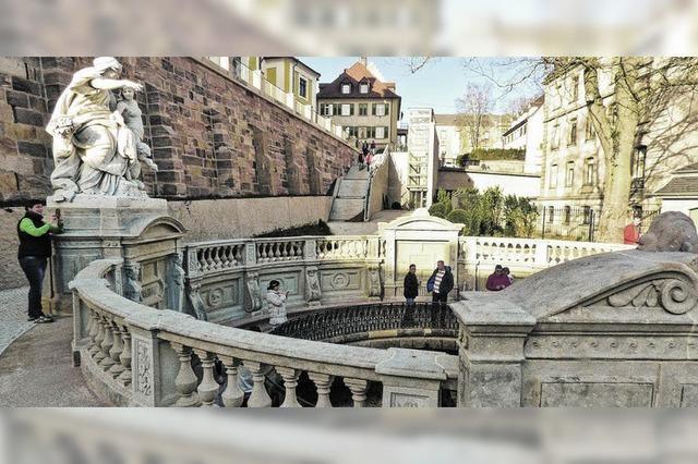 Die Donauquelle ist für Besucher freigegeben