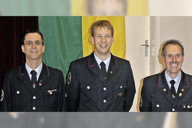 Tobias Lehr wird neuer Feuerwehrkommandant