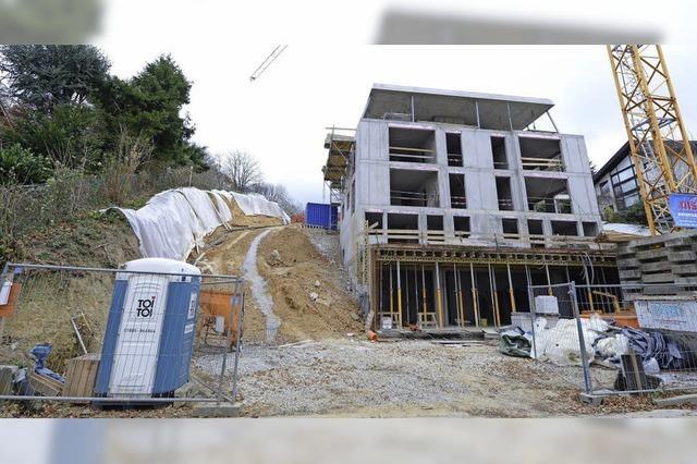 Bauherr deponiert Erdaushub im Landschaftsschutzgebiet am Lorettoberg