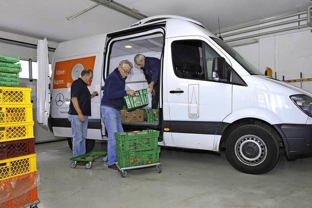 Freiburger Tafel versorgt immer mehr Flüchtlinge