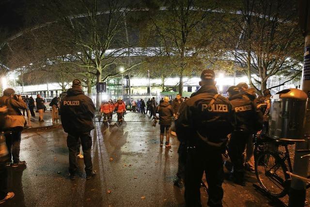 Terrorgefahr stoppt das Länderspiel