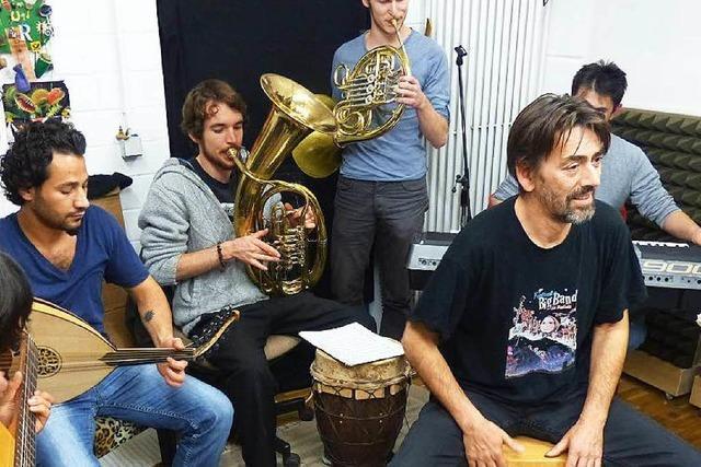 Flüchtlingsarbeit der Musikhochschule: Heute Projektbörse