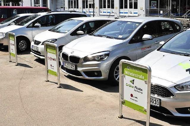 Server-Ausfall blockierte 40 Carsharing-Autos in Freiburg