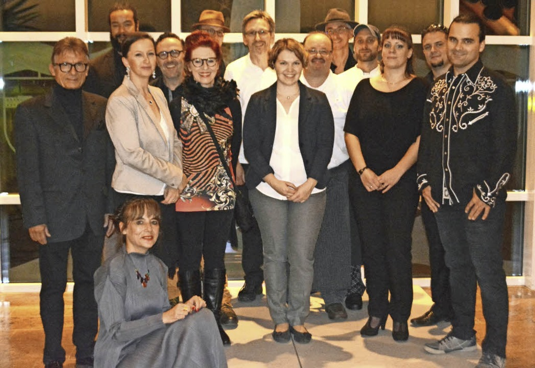 "Künstler, Gastronomen und Veranstalter...#8222;Sinneswandel"" in Endingen.  | Foto: Veranstalter"