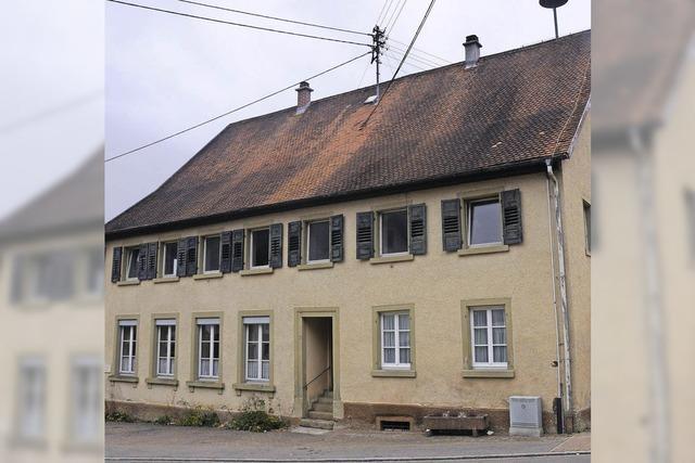 Gemeindehaus Grimmelshofen wird für 25 Flüchtlinge hergerichtet