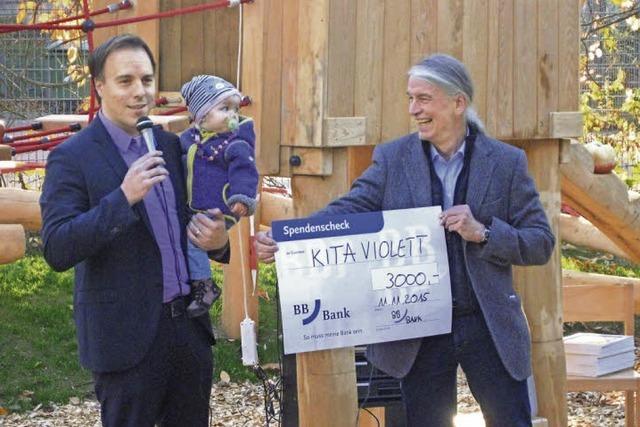 Spenden für Kita-Garten