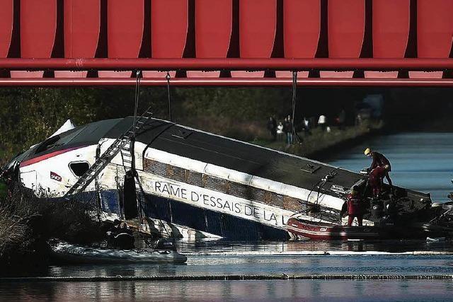 TGV-Unfall durch Bremsfehler verursacht