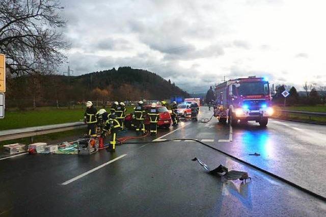 Schwerer Unfall auf der L 139