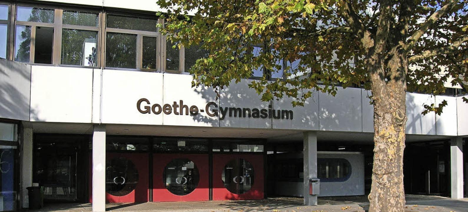Bald Ganztagsschule: Das Goethe-Gymnasium stellt sich dem Bedarf.  | Foto: Sylvia-Karina Jahn